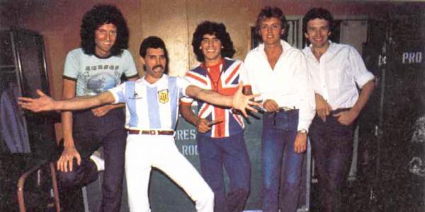 Queen & Diego Maradona