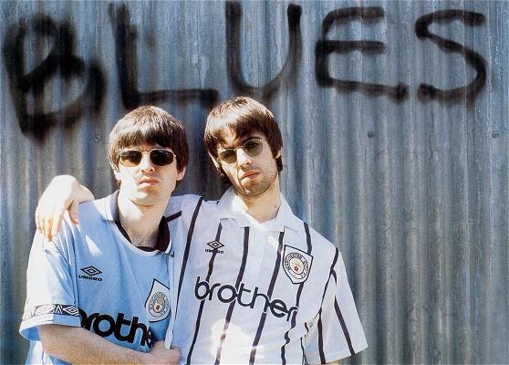 фанаты «Манчестер Сити», братья Галлахеры из Oasis